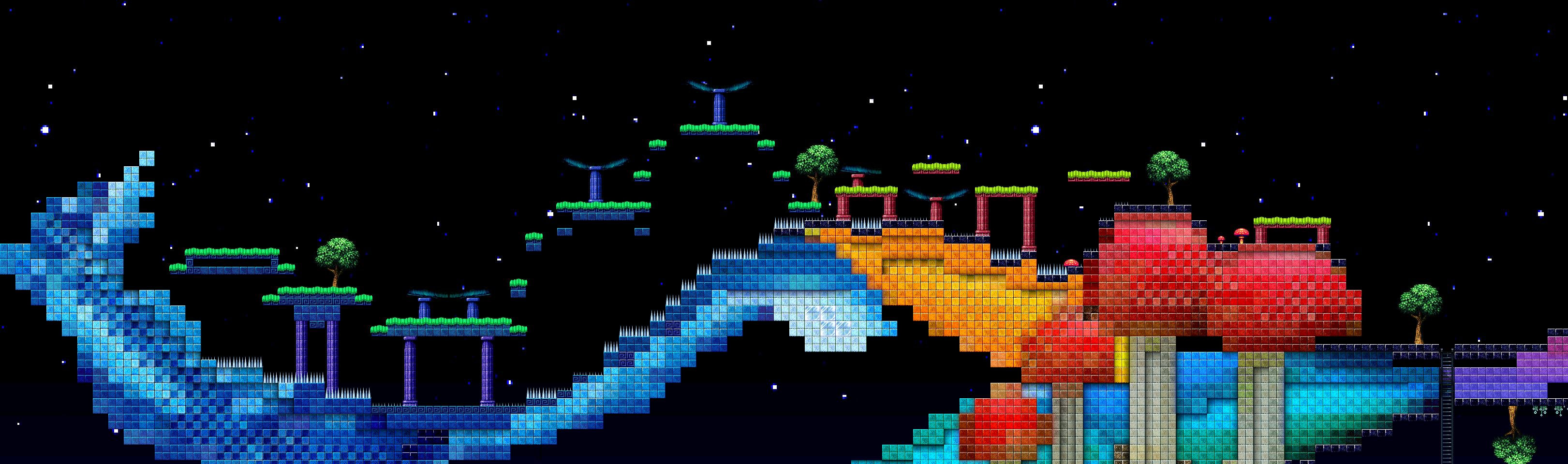 Pixelsphere A Musical Platformer 2d Pixel Art Sidescroller